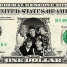 ONE DIRECTION on REAL Dollar Bill - Celebrity Collectible Custom Cash