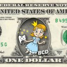 TOOTH FAIRY on a REAL Dollar Bill Custom Cash Money Bank Note Dinero Currency