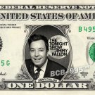 JIMMY FALLON Tonight Show on REAL Dollar Bill - Collectible Celebrity Cash Money