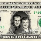 ABBOTT & COSTELLO on REAL Dollar Bill - Celebrity Collectible Custom Cash
