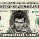 ANDY GRIFFITH on a REAL Dollar Bill Cash Money Collectible Memorabilia Celebrity