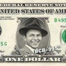 FRANK SINATRA on a REAL Dollar Bill Cash Money Collectible Memorabilia Celebrity