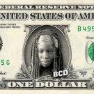 DANAI GURIRA on REAL Dollar Bill - Spendable Cash Money Walking Dead - Michonne