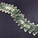 Money Origami CENTIPEDE - Dollar Bill Art - Made with $1.00 Cash