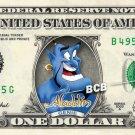 ALADDIN GENIE on REAL Dollar Bill - Robin Williams Celebrity Custom Cash Money