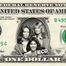 CHARLIE'S ANGELS on REAL Dollar Bill Spendable Cash Collectible Celebrity Money