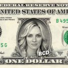 UMA THURMAN on REAL Dollar Bill Collectible Cash Celebrity Money Mint $1.00