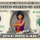 ALADDIN on REAL Dollar Bill - Collectible Celebrity Cash Money