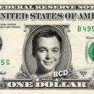 JIM PARSONS / Sheldon Cooperon (The Big Bang Theory) on REAL Dollar Cash Money