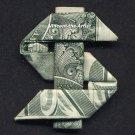DOLLAR SIGN Money Origami - Dollar Bill Cash Art - Unique Gift Idea