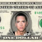 EMINEM on REAL Dollar Bill - Collectible Celebrity Cash Money Art $$