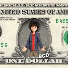 HIRO HAMADA on REAL Dollar Bill - Collectible Celebrity Cash Money Art