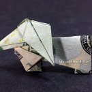 $20 Bill Money Origami DACHSHUND DOG - Dollar Bill Art - Made with $20 Bill Cash
