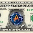 STAR TREK - Captain's 6-Pack REAL Dollar Bills - TOS TNG Enterprise DS9 Voyager