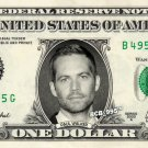 PAUL WALKER - Real Dollar Bill Cash Money Collectible Memorabilia Celebrity Novelty Bank Note