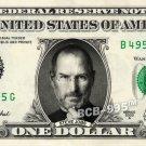 STEVE JOBS on REAL Dollar Bill - Celebrity Collectible Custom Cash