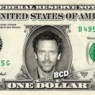 HUGH LAURIE on REAL Dollar Bill - Collectible Cash Collectible Celebrity Money