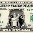 LINKIN PARK on REAL Dollar Bill - Cash Collectible Celebrity Money Art