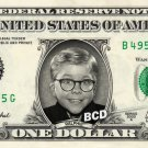 RALPHIE on REAL Dollar Bill collectible Cash Money - A Christmas Story $1