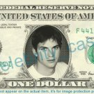 ASHTON KUTCHER - Actor - on REAL Dollar Bill - Cash Money Bank Note Currency