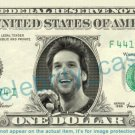 DANE COOK Comedian on REAL Dollar Bill - Cash Money Bank Note Currency Dinero