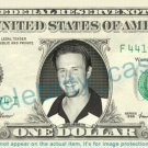 DAVID ARQUETTE on REAL Dollar Bill - Cash Money Bank Note Currency Dinero