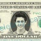 DAVID HENRIE Luke Mosby - How I Met Your Mother on REAL Dollar Bill - Cash Money