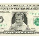 JAMES VAN DER BEEK on REAL Dollar Bill Cash Money Bank Note Currency Celebrity