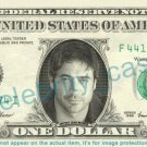 JEFFREY DEAN MORGAN Denny Duquette Grey's Anatomy on REAL Dollar Bill Cash Money