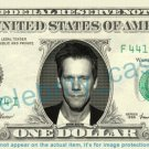 KEVIN BACON on REAL Dollar Bill Cash Money Bank Note Currency Dinero Celebrity