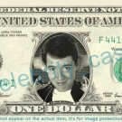 MATTHEW BRODERICK on REAL Dollar Bill - Cash Money Bank Note Currency Dinero