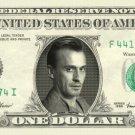 ROBERT KNEPPER T-Bag Prison Break on REAL Dollar Bill Cash Money Bank Note