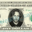 RUSSELL CROWE on REAL Dollar Bill Cash Money Bank Note Currency Dinero Celebrity