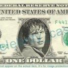 TOM WELLING Clark Kent Smallville on REAL Dollar Bill Cash Money Bank Note