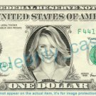 CAMERON DIAZ on REAL Dollar Bill Cash Money Bank Note Currency Dinero Celebrity