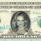 HEATHER GRAHAM on REAL Dollar Bill Cash Money Bank Note Currency Dinero Celebrity
