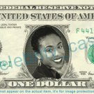 JADA PINKETT SMITH on REAL Dollar Bill Cash Money Bank Note Currency Dinero Celebrity