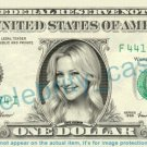 KATE HUDSON on REAL Dollar Bill Cash Money Bank Note Currency Dinero Celebrity