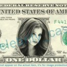MICHELLE TRACHTENBERG Dawn Summers Buffy Vampire Slayer on REAL Dollar Bill Cash