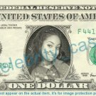 RAVEN SYMONE Olivia Kendall Cosby Show on REAL Dollar Bill Cash Money Bank Note