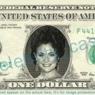 REIKO AYLESWORTH Michelle Dessler 24 on REAL Dollar Bill Cash Money Bank Note