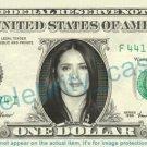 SALMA HAYEK on REAL Dollar Bill Cash Money Bank Note Currency Dinero Celebrity