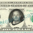 NEIL ARMSTRONG on REAL Dollar Bill Cash Money Bank Note Currency Dinero Celebrity