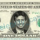 BOBBY JINDAL on REAL Dollar Bill Cash Money Bank Note Currency Dinero Celebrity
