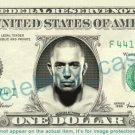 GEORGES ST PIERRE GSP MMA UFC on REAL Dollar Bill Cash Money Bank Note Currency