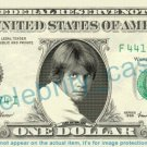 LUKE SKYWALKER Star Wars on REAL Dollar Bill Cash Money Bank Note Currency
