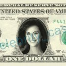 CATHERINE BELL Sarah MacKenzie JAG on REAL Dollar Bill Cash Money Bank Note