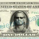 DOG BOUNTY HUNTER on REAL Dollar Bill Cash Money Bank Note Currency Dinero