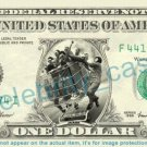 JACKASS TV Show Movie on REAL Dollar Bill Cash Money Bank Note Currency Dinero