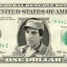 CORPORAL KLINGER Jamie Farr Mash On Real Dollar Bill Cash Money Bank Note